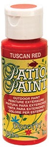 Patio Paint outdoor, Tuscan Red utomhus